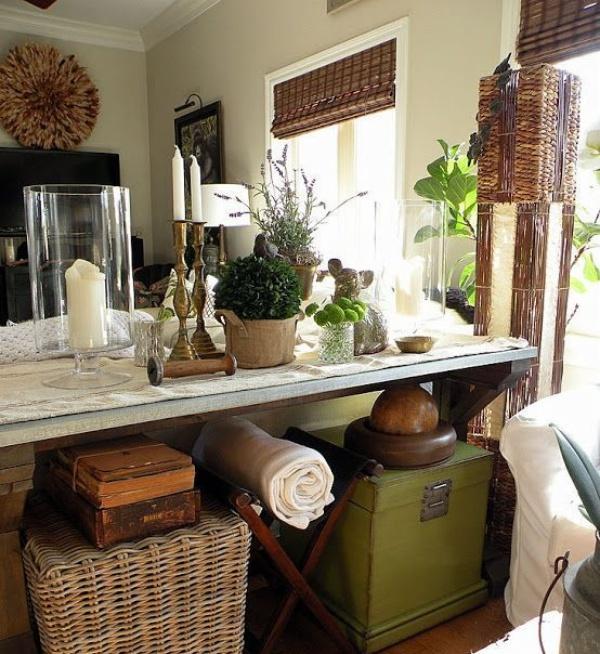 Những ý tưởng décor bàn cũ vô cùng ấn tượng cho không gian sống đẹp cuốn hút - Ảnh 1.
