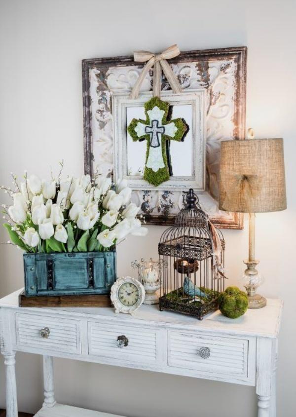 Những ý tưởng décor bàn cũ vô cùng ấn tượng cho không gian sống đẹp cuốn hút - Ảnh 16.