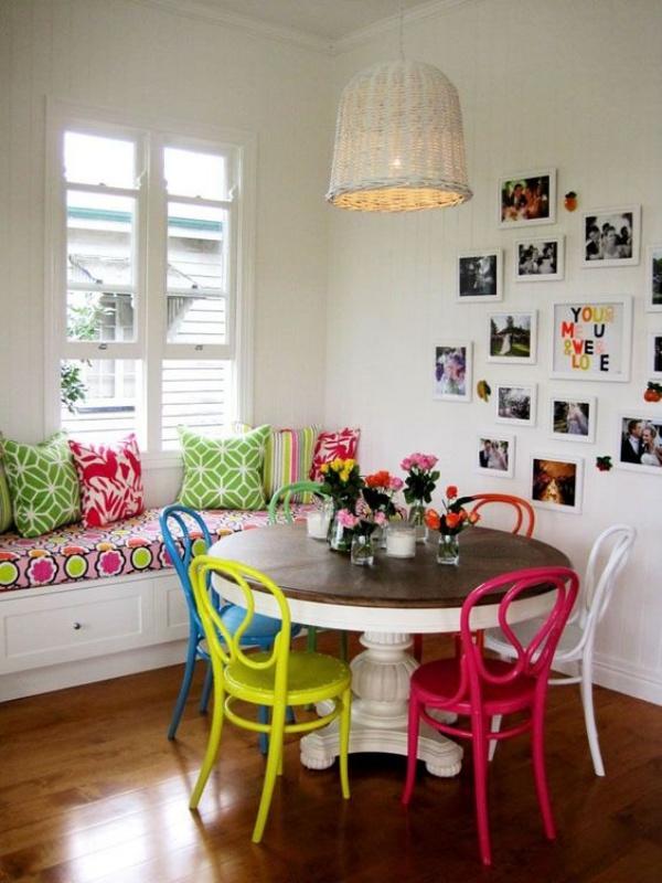 Kết hợp bàn gỗ kiểu cũ với ghế hiện đại - xu hướng mới cho phòng ăn gia đình - Ảnh 13.