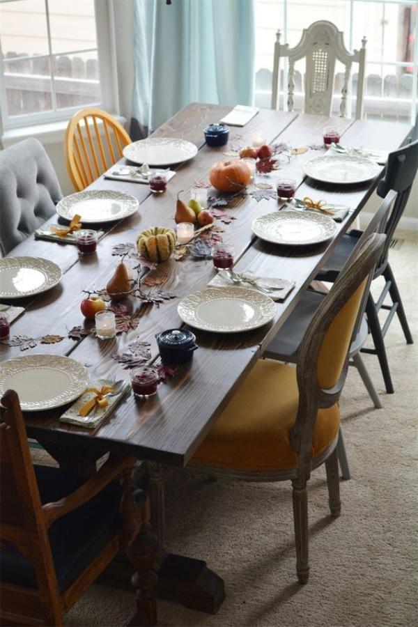 Kết hợp bàn gỗ kiểu cũ với ghế hiện đại - xu hướng mới cho phòng ăn gia đình - Ảnh 16.