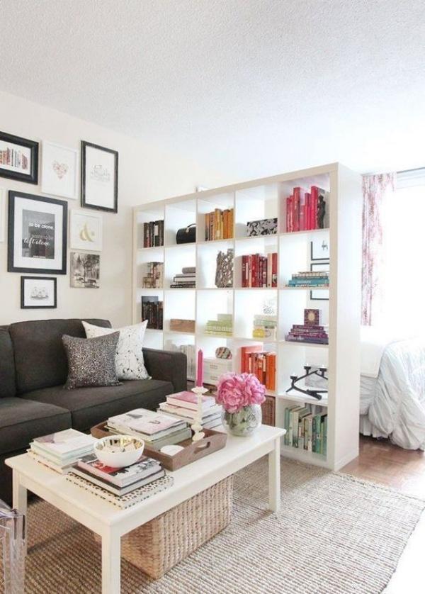 Những ý tưởng dùng kệ để tạo góc lưu trữ cực đẹp và hữu ích cho nhà nhỏ - Ảnh 9.