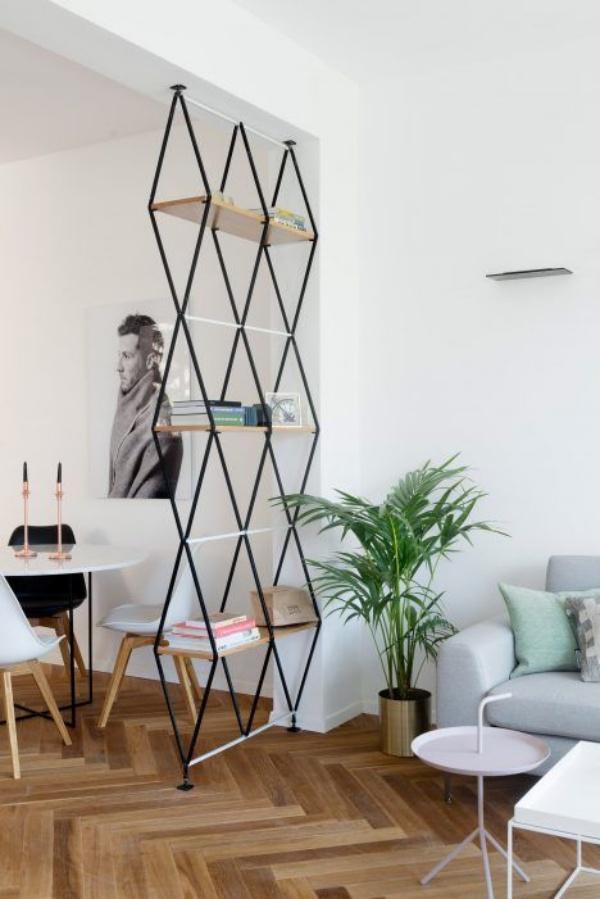 Những ý tưởng dùng kệ để tạo góc lưu trữ cực đẹp và hữu ích cho nhà nhỏ - Ảnh 12.