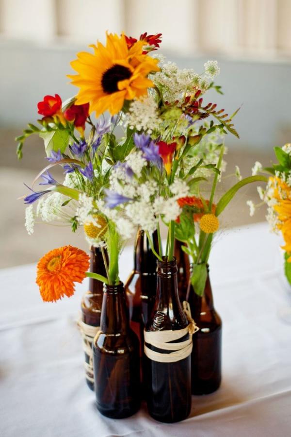 Những cách cắm hoa sáng tạo giúp nhà bạn lúc nào cũng đẹp như trong một vườn hoa - Ảnh 8.