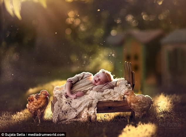 Ngắm những thiên thần bé nhỏ say gấc bên thú cưng đáng yêu - Ảnh 14.