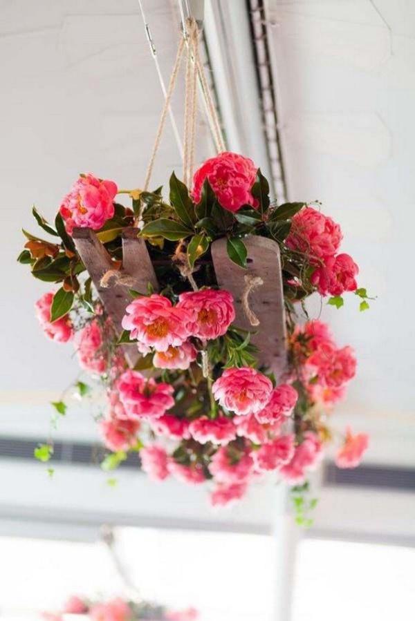 Đèn chùm bằng hoa tươi rực rỡ sắc màu làm duyên cho ngôi nhà của bạn - Ảnh 9.