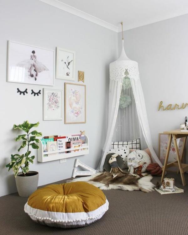 Phát triển thị giác và tính năng động cho trẻ nhờ trang trí phòng theo phong cách Bohemian - Ảnh 1.