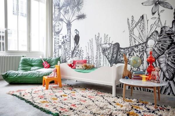 Phát triển thị giác và tính năng động cho trẻ nhờ trang trí phòng theo phong cách Bohemian - Ảnh 5.