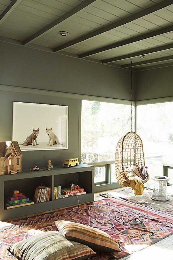 Phát triển thị giác và tính năng động cho trẻ nhờ trang trí phòng theo phong cách Bohemian - Ảnh 7.