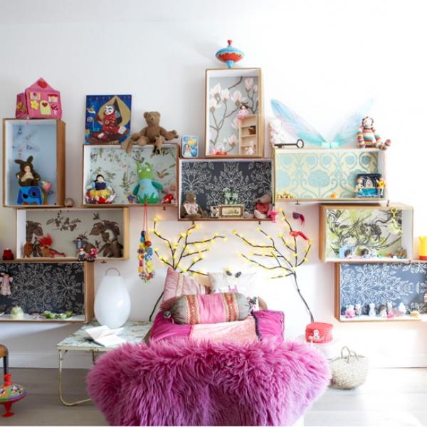 Phát triển thị giác và tính năng động cho trẻ nhờ trang trí phòng theo phong cách Bohemian - Ảnh 8.