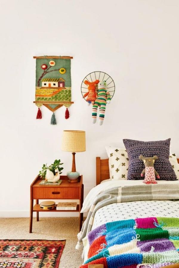 Phát triển thị giác và tính năng động cho trẻ nhờ trang trí phòng theo phong cách Bohemian - Ảnh 10.