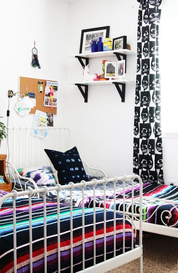 Phát triển thị giác và tính năng động cho trẻ nhờ trang trí phòng theo phong cách Bohemian - Ảnh 11.