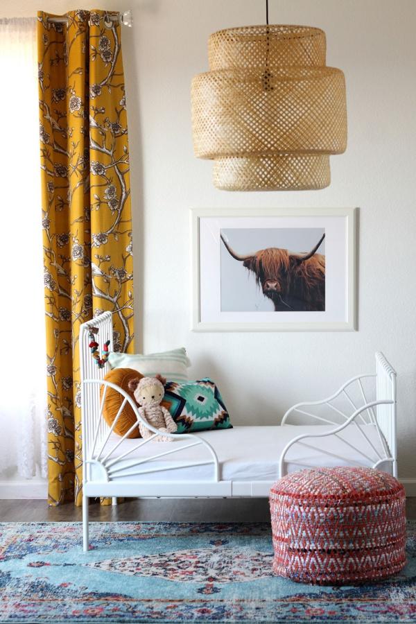 Phát triển thị giác và tính năng động cho trẻ nhờ trang trí phòng theo phong cách Bohemian - Ảnh 13.