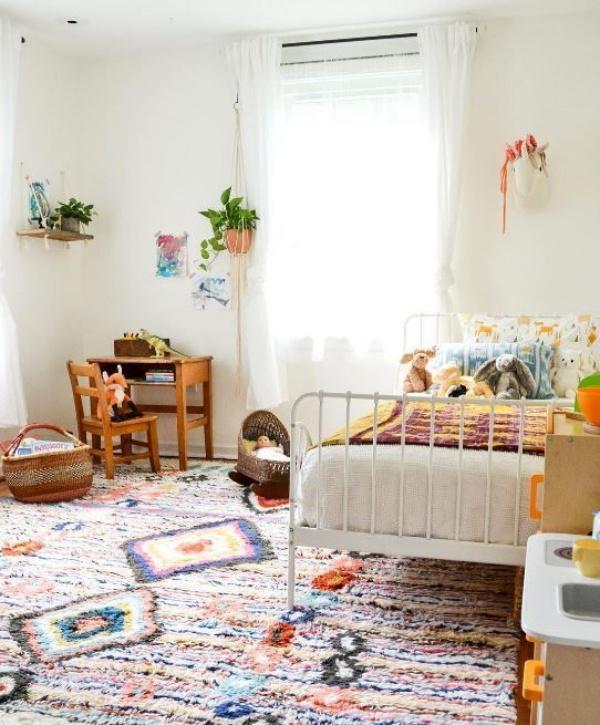 Phát triển thị giác và tính năng động cho trẻ nhờ trang trí phòng theo phong cách Bohemian - Ảnh 14.