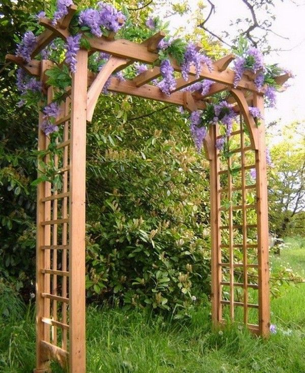 Những khu vườn trở nên lãng mạn và ngọt ngào nhờ cổng vòm rực rỡ sắc hoa - Ảnh 3.