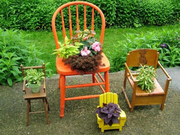 Tận dụng đồ bỏ đi trong nhà để trang trí khu vườn mùa hè thêm xanh mát - Ảnh 10.