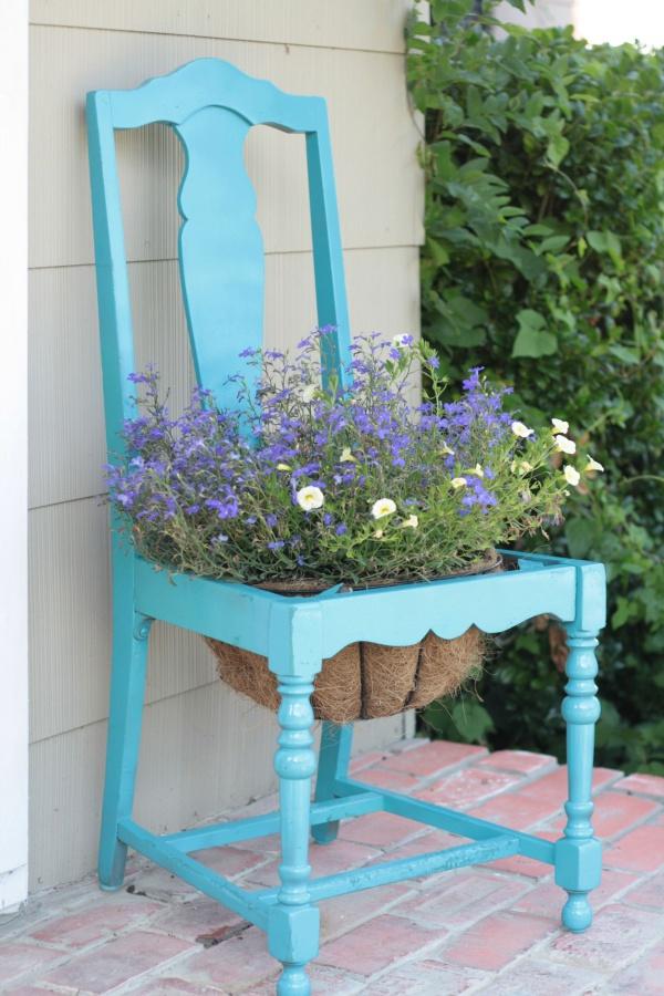 Tận dụng đồ bỏ đi trong nhà để trang trí khu vườn mùa hè thêm xanh mát - Ảnh 12.