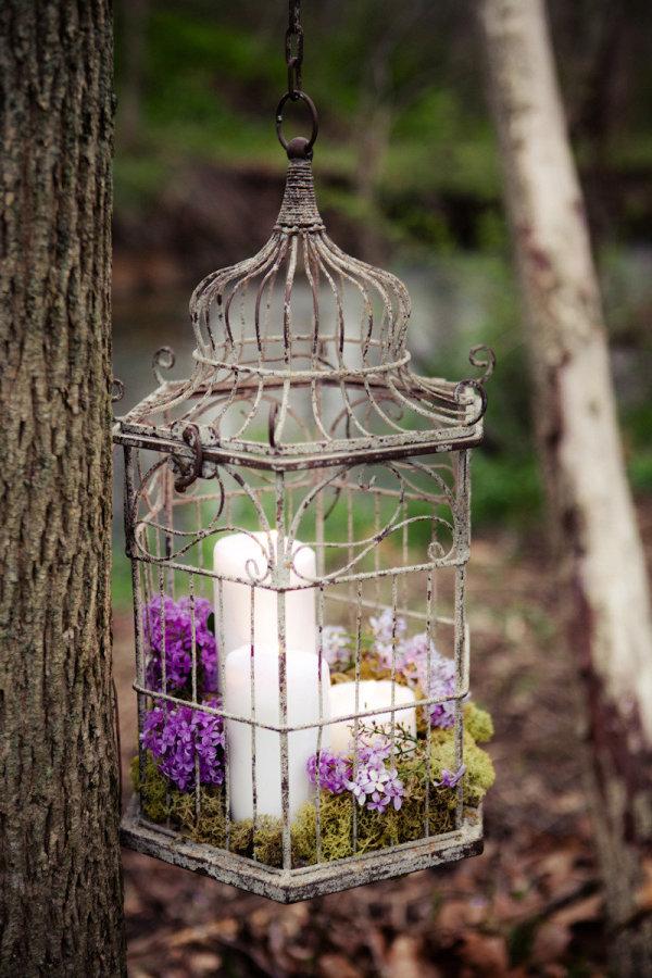 Lồng chim cũ và những ý tưởng tận dụng trang trí nhà cực lung linh, sáng tạo - Ảnh 8.