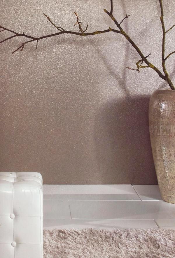 Bức tường với điểm nhấn tạo vẻ đẹp nghệ thuật cho không gian bằng sơn nhũ - Ảnh 1.