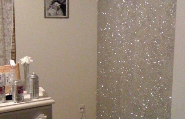 Bức tường với điểm nhấn tạo vẻ đẹp nghệ thuật cho không gian bằng sơn nhũ - Ảnh 3.