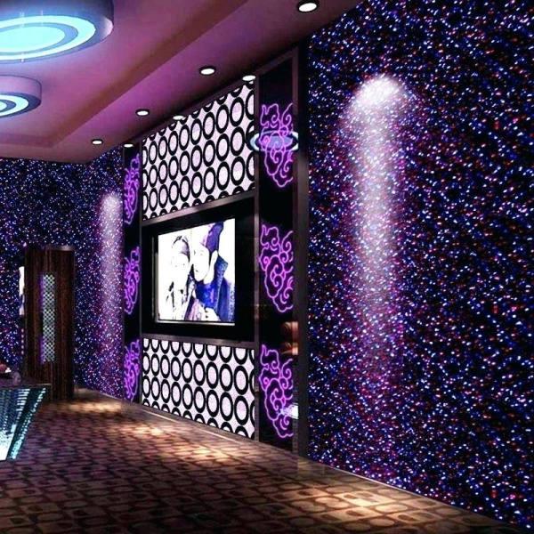 Bức tường với điểm nhấn tạo vẻ đẹp nghệ thuật cho không gian bằng sơn nhũ - Ảnh 7.