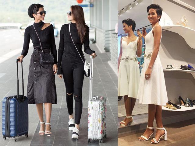 Sau khi bị stylist cho diện hoài đồ cũ, cuối cùng thì Hoa hậu HHen Niê cũng có món đồ mới của riêng mình - Ảnh 3.