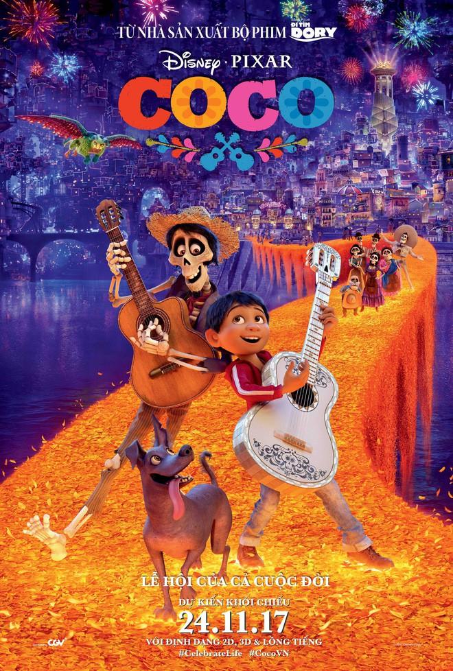 Coco thắng giải Phim hoạt hình hay nhất Quả cầu vàng 2018 - Ảnh 1.