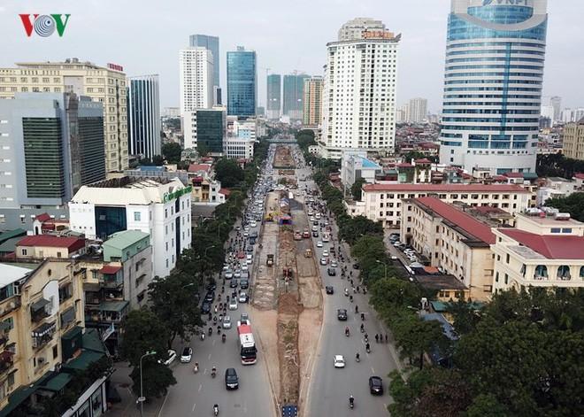 Toàn cảnh đại công trường mở rộng đường đẹp nhất Việt Nam - Ảnh 1.