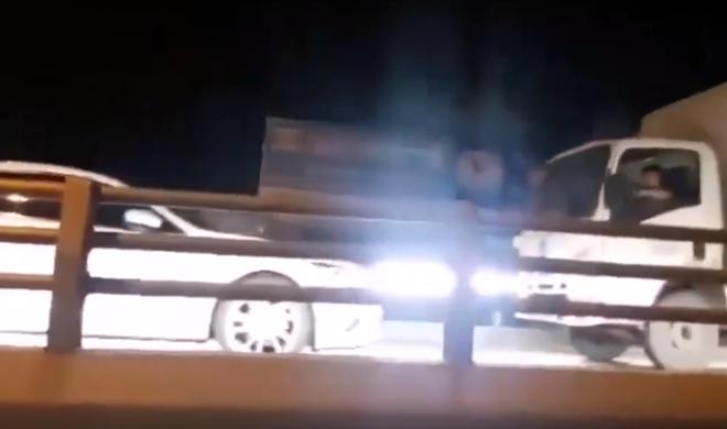 Nữ tài xế lái xe ngược chiều trên cầu vượt thép ngã 5 Gò Vấp - Ảnh 1.