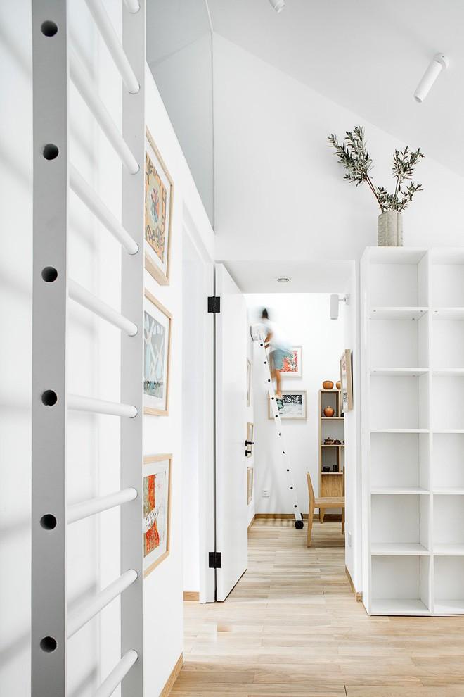 Ngôi nhà 45m² có 4 phòng ngủ cực hợp lý và đáng học tập để có tổ ấm đẹp ở thành phố - Ảnh 1.