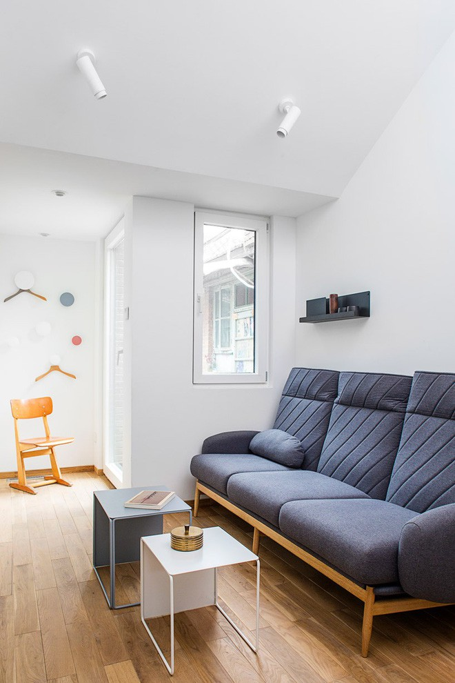 Ngôi nhà 45m² có 4 phòng ngủ cực hợp lý và đáng học tập để có tổ ấm đẹp ở thành phố - Ảnh 2.