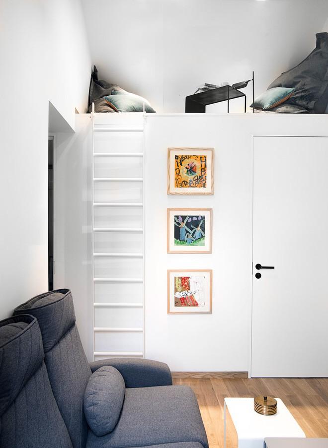 Ngôi nhà 45m² có 4 phòng ngủ cực hợp lý và đáng học tập để có tổ ấm đẹp ở thành phố - Ảnh 3.