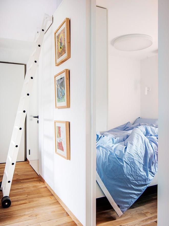 Ngôi nhà 45m² có 4 phòng ngủ cực hợp lý và đáng học tập để có tổ ấm đẹp ở thành phố - Ảnh 5.