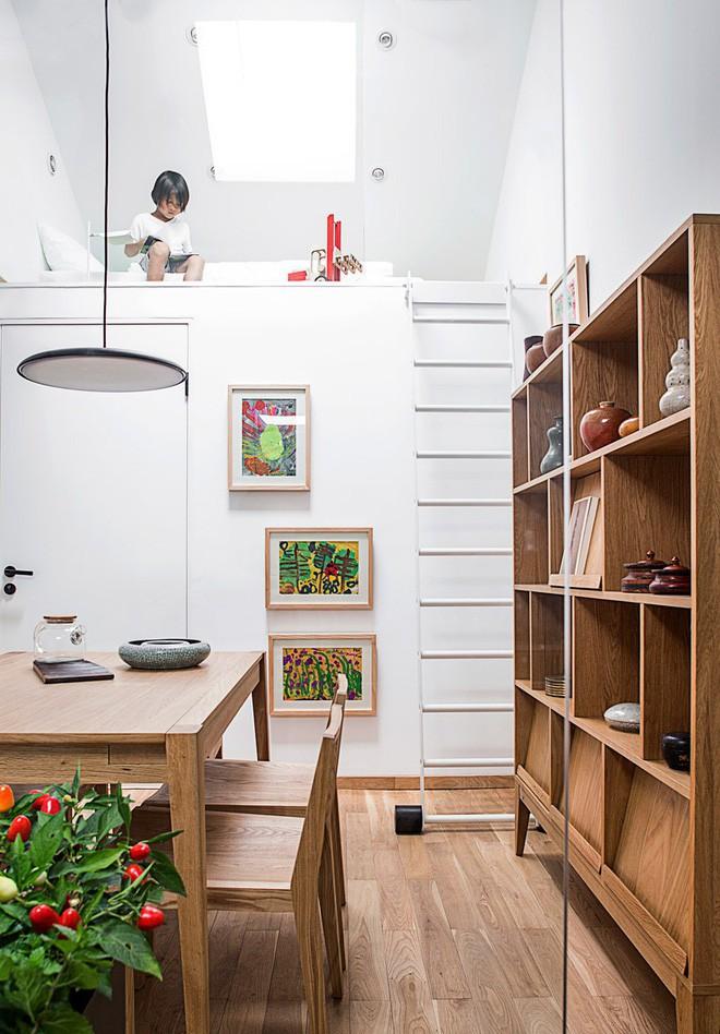 Ngôi nhà 45m² có 4 phòng ngủ cực hợp lý và đáng học tập để có tổ ấm đẹp ở thành phố - Ảnh 6.