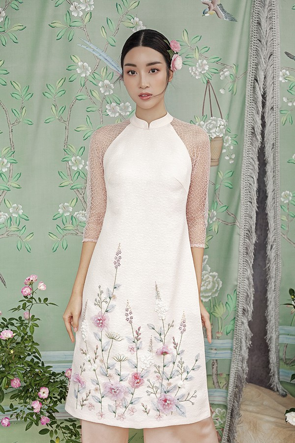 Đỗ Mỹ Linh gợi ý chọn áo dài cách tân mặc tết - Ảnh 11.