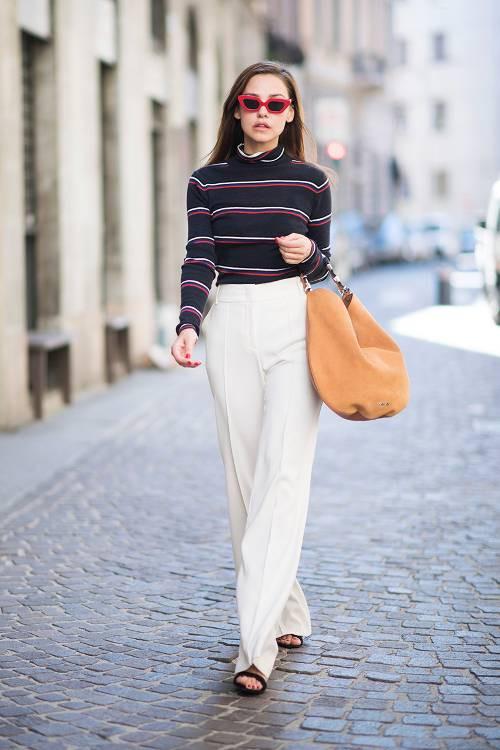 3 cách mix 'thần thánh' đưa áo sweater trở thành item đáng mặc vào mùa xuân - Ảnh 12.