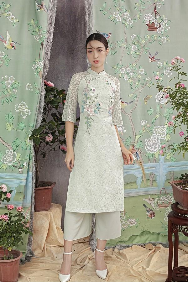 Đỗ Mỹ Linh gợi ý chọn áo dài cách tân mặc tết - Ảnh 3.