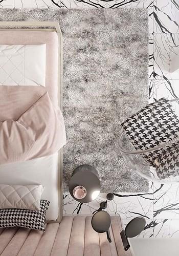 Phòng ngủ màu hồng vừa lạ vừa sang trọng - Ảnh 3.