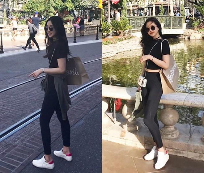 Naeun (Apink) chia sẻ bài tập tạo đường cong hoàn hảo khi mặc legging mà ai cũng có thể làm tại nhà - Ảnh 4.