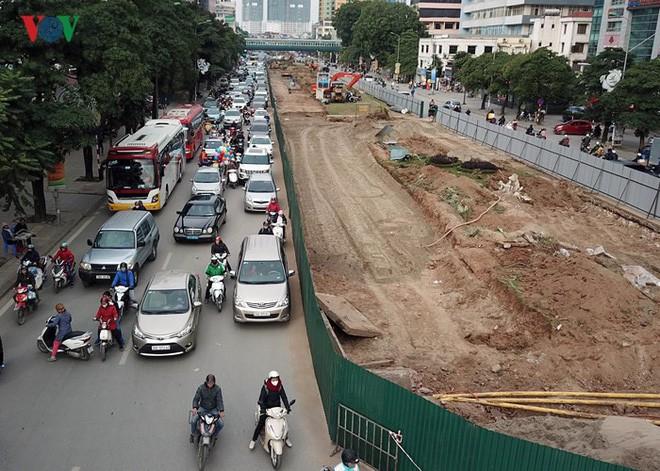 Toàn cảnh đại công trường mở rộng đường đẹp nhất Việt Nam - Ảnh 4.