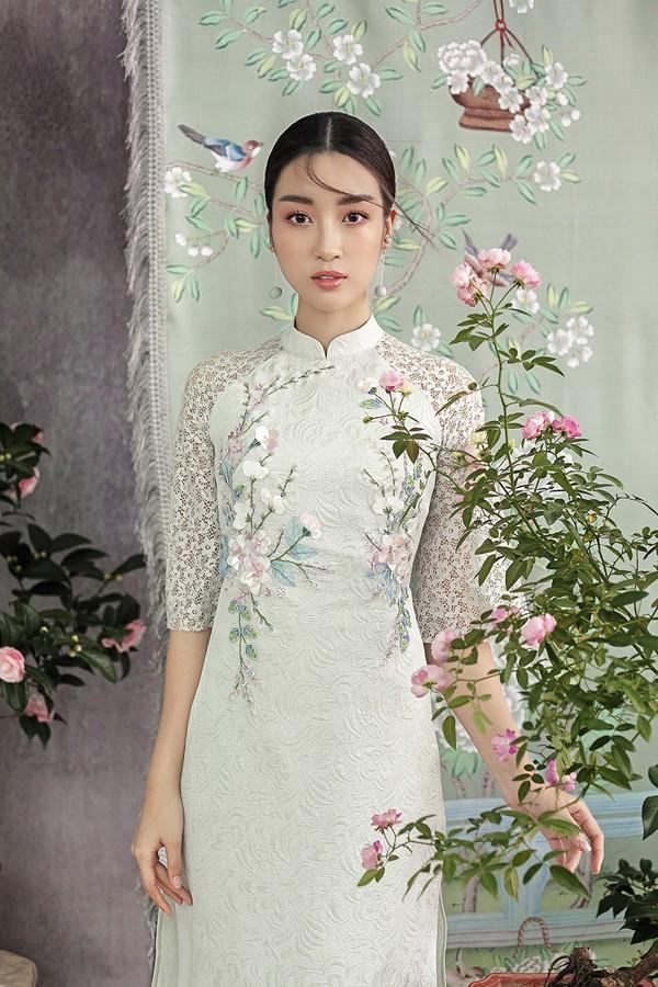 Đỗ Mỹ Linh gợi ý chọn áo dài cách tân mặc tết - Ảnh 4.