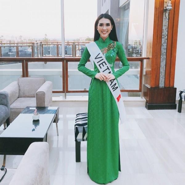 Tường Linh vào Top 10 thí sinh được yêu thích nhất Hoa hậu Liên lục địa 2017 - Ảnh 4.