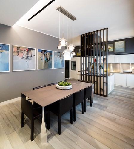 Ấn tượng với căn hộ kết hợp màu sắc trắng đen - Ảnh 4.