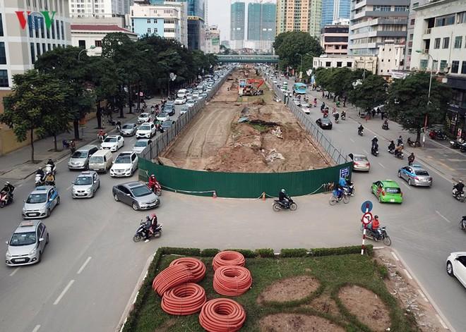 Toàn cảnh đại công trường mở rộng đường đẹp nhất Việt Nam - Ảnh 5.