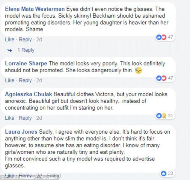 Victoria Beckham bị phản ứng mạnh vì để mẫu gầy nhẳng chụp hình quảng cáo - Ảnh 5.