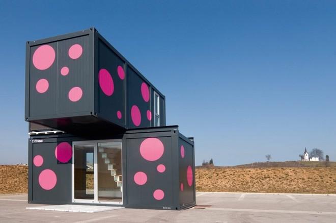 15 ngôi nhà độc đáo trên thế giới được tạo nên từ… container tái chế - Ảnh 6.