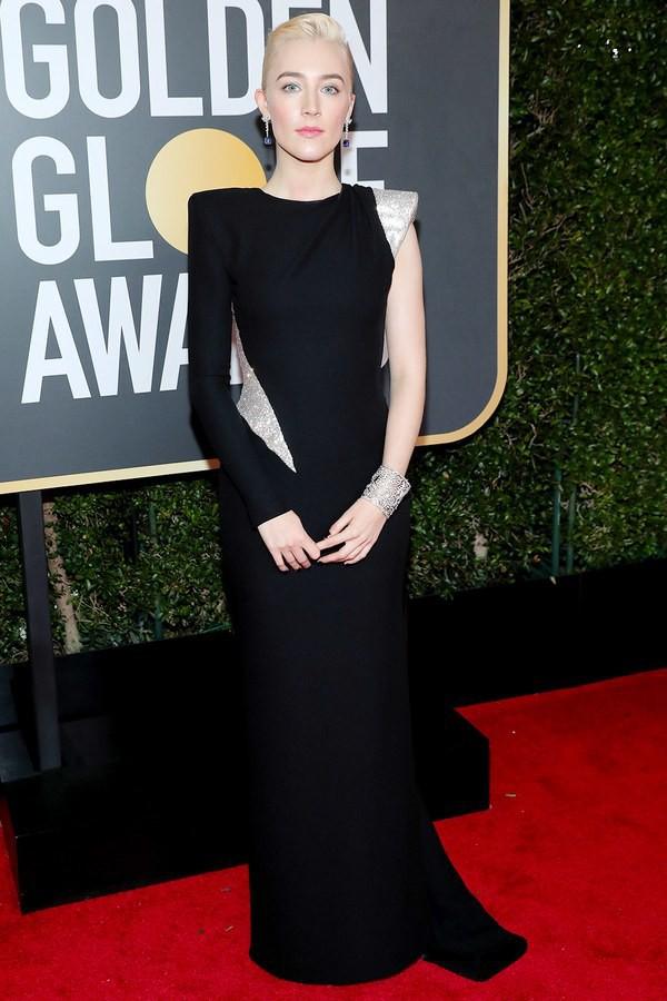 Thảm đỏ Quả Cầu Vàng 2018 ấn tượng hơn bội phần vì dàn mỹ nhân Hollywood mặc đồ đen - Ảnh 7.
