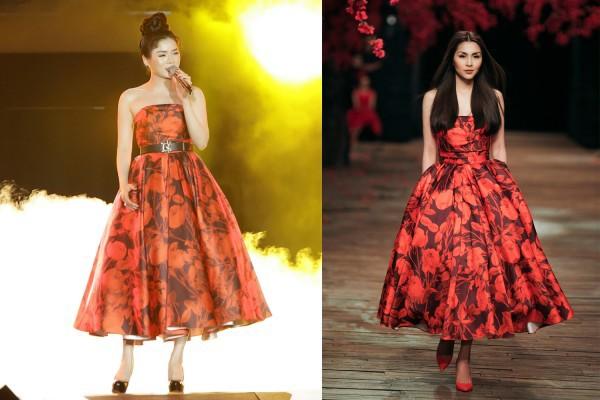 Diện lại váy cũ của Hà Tăng, Lệ Quyên vẫn xinh đẹp, sang trọng không tì vết - Ảnh 7.