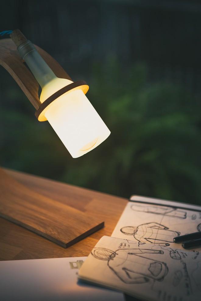 Đèn tái chế có thiết kế hiện đại tối giản đẹp như một cơn mơ - ảnh 7