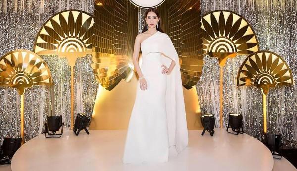 'Vòng eo 53 cm' Tường Linh kém sang khi mặc lại 'váy cũ' của Đặng Thu Thảo - Ảnh 7.