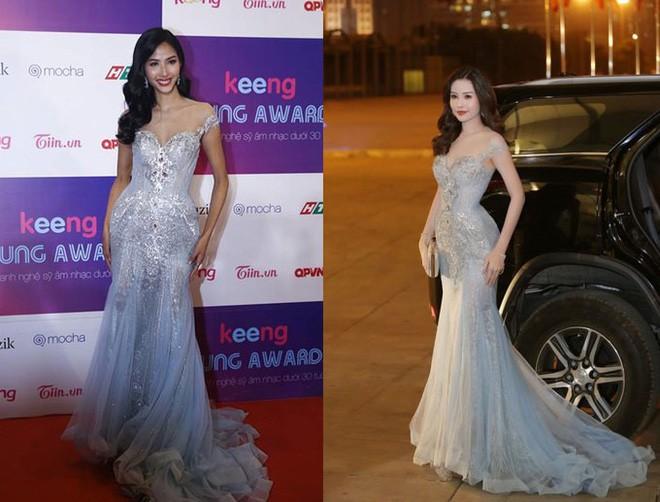 Kể từ khi đăng quang, từ Hoa hậu HHen Niê cho đến 2 Á hậu Hoàn vũ cứ mải miết dùng lại đồ cũ - Ảnh 7.